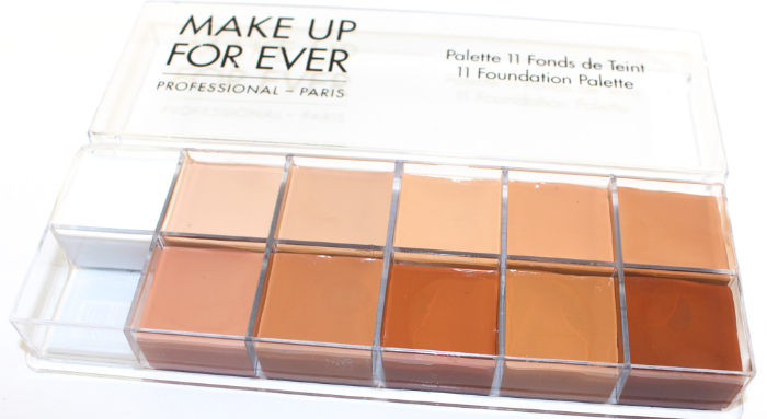 Make Up For Ever Foundation Palette Beauty In The Geek