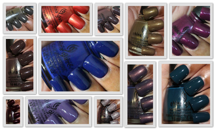 China Glaze All Aboard Collection Homepage