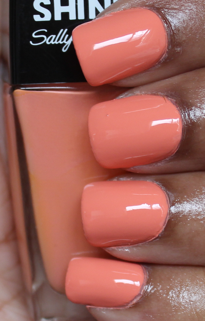 sally hansen peach party