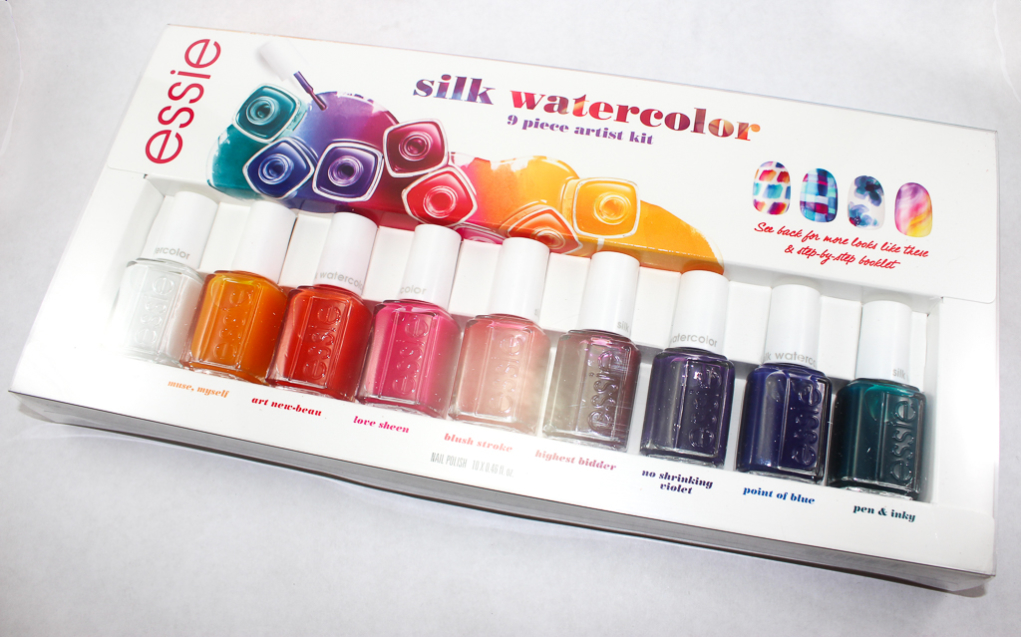 KillerLipGloss • Essie Silk Watercolor Swatches