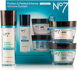 BOOTS No7 Protect & Perfect Intense Skincare System SPF 15