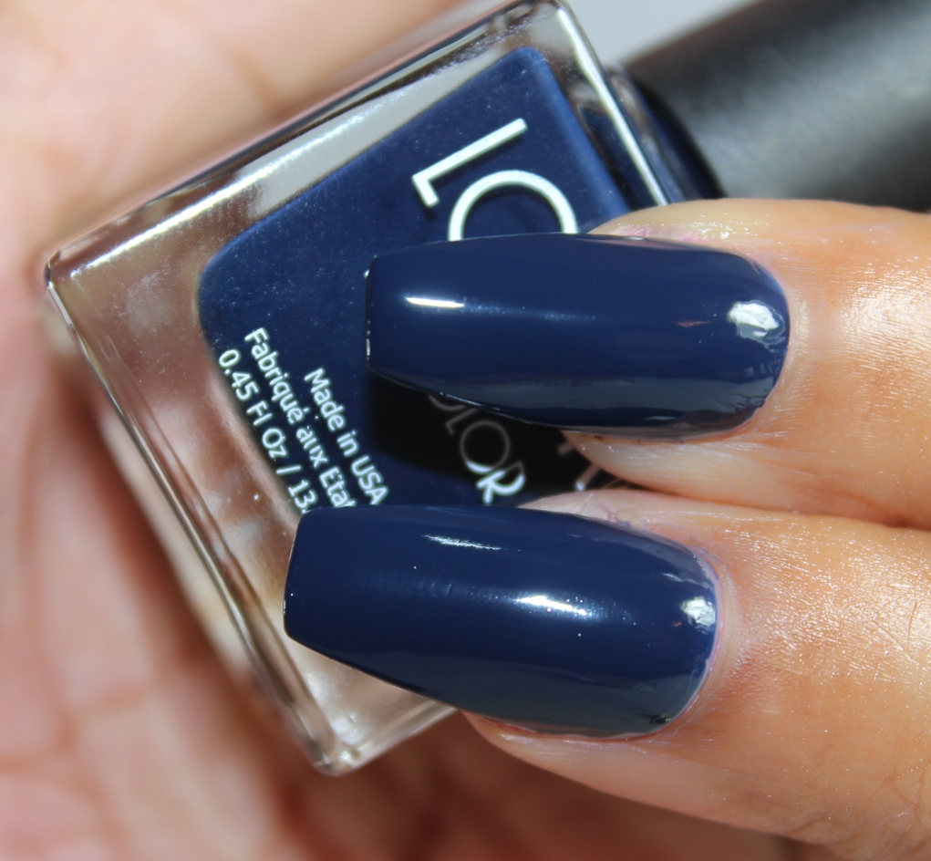 look nail color midnight-2