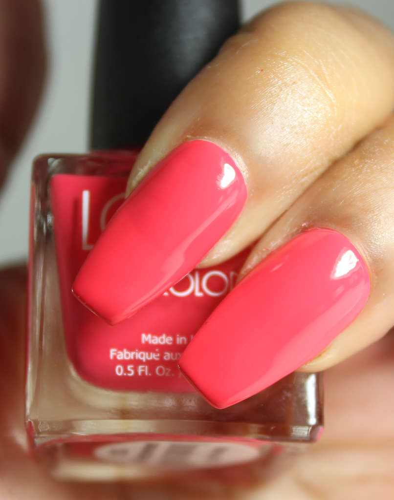 look nail color persimmon