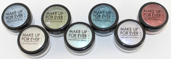 Make Up For Ever Star Powder Swatches
