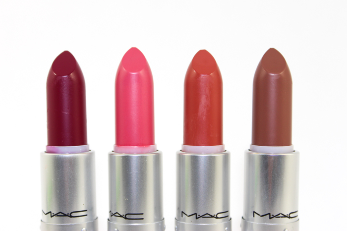 mac matte lip collection swatches