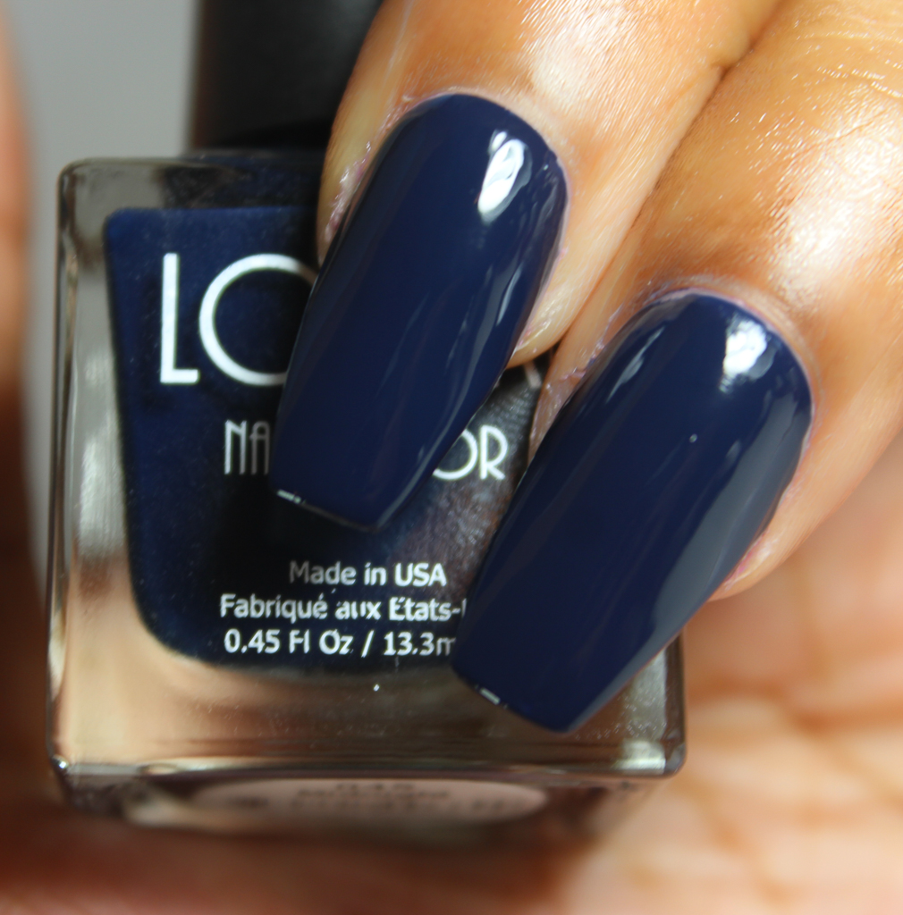 look nail color midnight