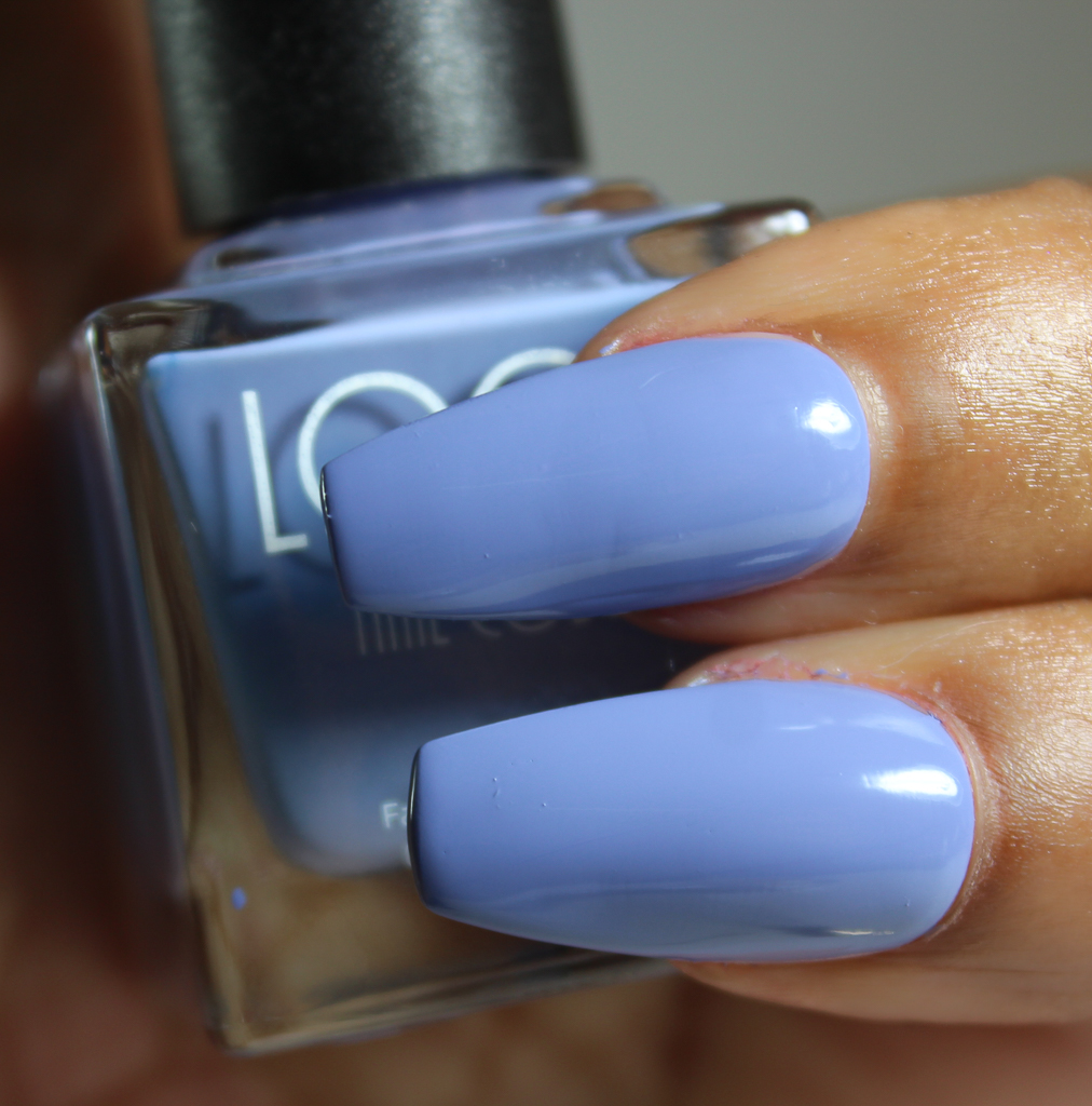 look nail color periwinkle