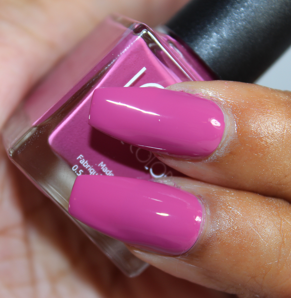 look nail color rose-2